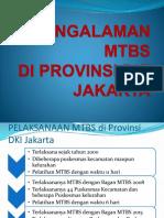 Pengalaman Mtbs Di Provinsi Dki Jakarta