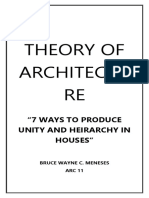 7 Ways to Produce Unity and Heirarchy in Houses