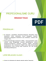 profesionalisme perguruan