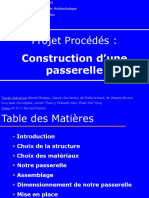 Construction Paserelle