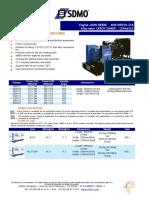 275kw Diesel Generator Datasheet j275u (English)