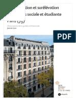 UR OBS 2010 75_fiche 33 Paris_15 Résidence Sociale Étudiante Convention