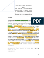 Automated Reading Prototype