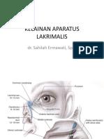 2019_dr.shaliah,Sp.m_gangguan Pada Aparatus Lakrimalis