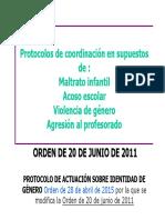 Protocolos de Convivencia