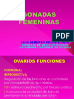 GONADAS FEMENINAS