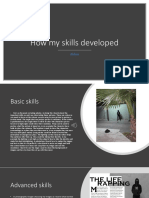 q3- how my skills developed