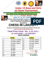 Final u 19 Arca Open and Girls Fide Rated Chess Tournament