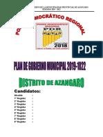 Plan Azangaro 2018 I