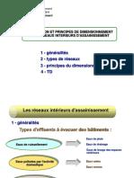 CONCEPTION ET PRINCIPES DE DIMENSIONNEMENT DES RESEAUX INTERIEURS D_ASSAINISSEMENT.ppt