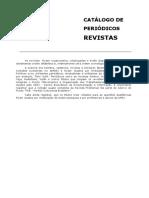 Periodicos Revistas