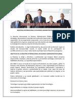 BUSINESS ADMINISTRATION (MBA)  PULSE AQUI PARA VER  LOS OBJETIVOS Y EL CONTENIDO PROGRAMATICO DE LA MAESTRIA INTERNACIONAL.pdf