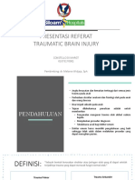 PPT Referat Pediatric Traumatic Brain Injury (Ello)