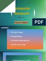 Compputer Networks 4 unit ppt