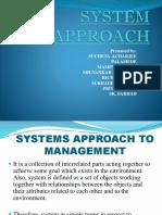 System Approach