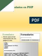 Formularios Php