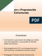 Funciones y Programacion Estructurada