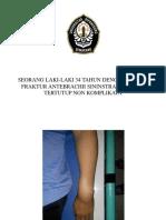 Laporan kasus bedah fraktur antebrachii