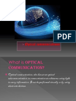 ppt on optical communication