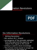 5 Six Information Revolutions
