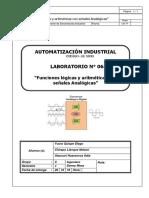 """Lab 06 """"Funciones lógicas y aritméticas con señales Analógicas"""" COMPAC culminado.pdf"""