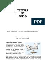 Clase N° 3 Textura del suelo