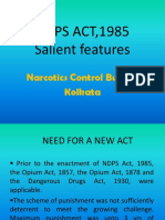 NDPS Act