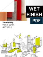 Wet Finishes