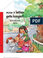 Ritu's Letter Gets Longer - English