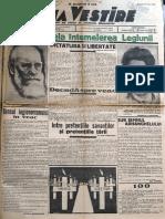Buna Vestire anul I, nr. 100, 27 iunie 1937