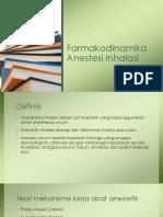 Farmakodinamika Anestesi Inhalasi
