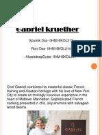 Gabriel Kruether