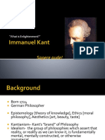 all about immanuel kant ppt