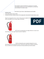 Fire Safety and First Aid 6th sem
