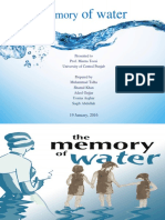Presentation (Memory of Water)
