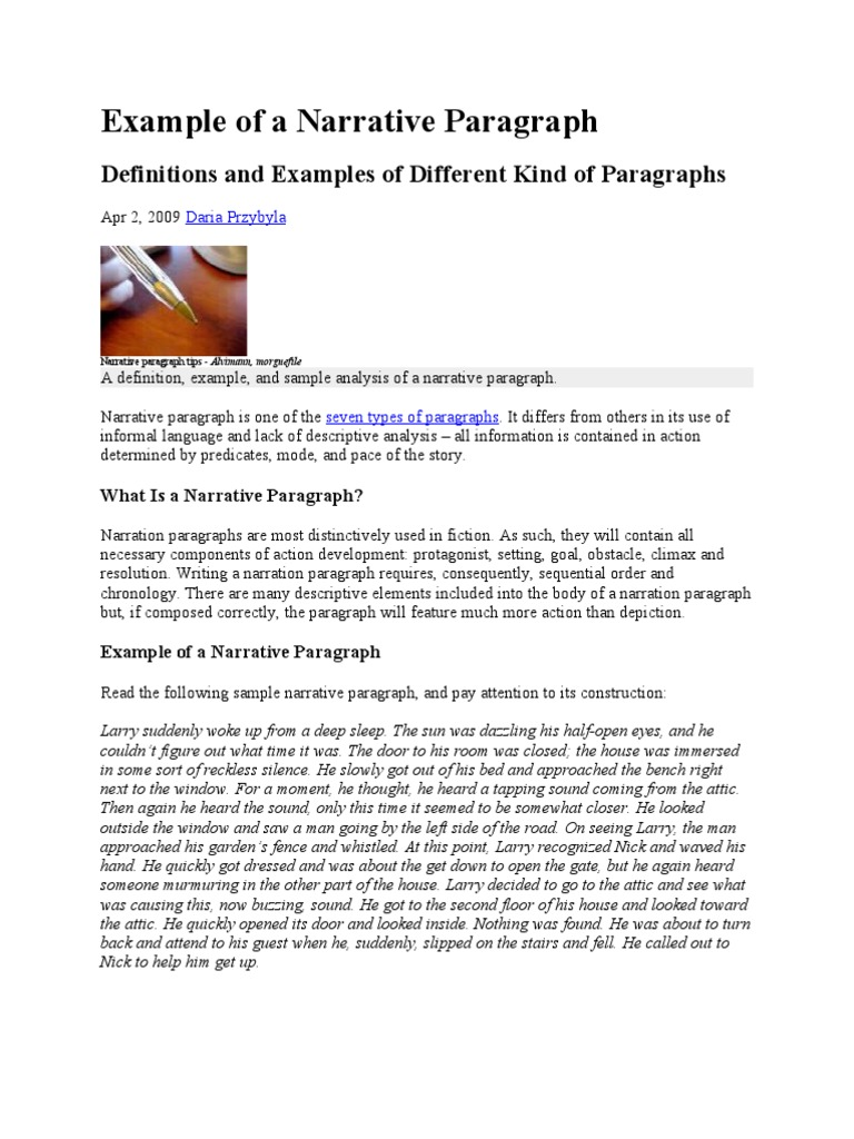 paragraph example An argument paragraph presents a point of view and provides evidence for the point of view taken an argument is an opinion supported by facts writers refer to opinions as claims and facts.