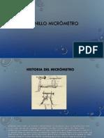 Tornillo Micrómetro