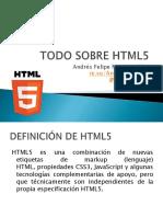 todo sobre html5