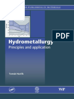 Preview of Hydrometallurgy Principles and Applications