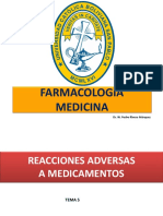 5. Reacciones Adversas a Los Medicamentos