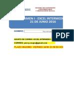 Examen i - Excel Intermedio