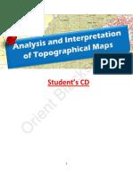 analysis and interpretation of topographical maps (ICSE)