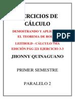 LEITHOLD - CÁLCULO 7MA EDICIÓN PÁG 221 EJERCICIO 3-3(JOHNNY QUINAGUANO P2).docx