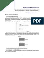 Notions Sur Les Systèmes à Semi Conducteurs (2009-2010)