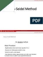 11 Gauss Seidel Lecture