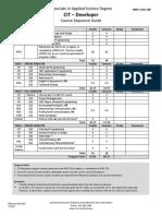 Cit Developer Course Sequence Guide