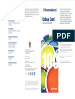 IP paint colour card(Marine)