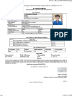 Yash Examination Form