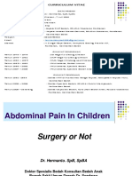 Abdominal Pain in Children - Dr. Hermanto Sp.ba