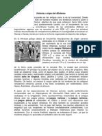 Historia y Origen Del Atletismo